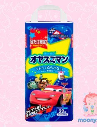 Трусики ночные Moony S Big (13-25 кг) 22 шт. для мальчиков. (Внутренний рынок Японии)