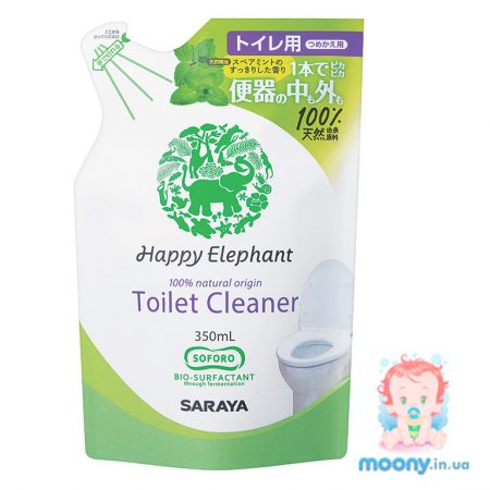 Средство для чистки туалета Happy Elephant 350 мл наполнитель