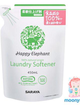 Ополаскиватель для белья Happy Elephant 450 мл наполнитель