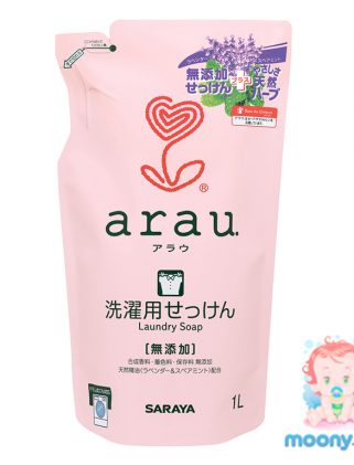 Жидкое средство для стирки одежды Arau запасной блок 1 л