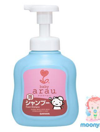 Детский шампунь-пена для волос Arau Baby 450 мл