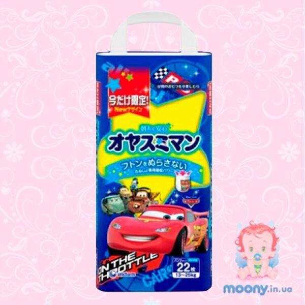 Трусики ночные Moony S Big (13-25кг) 22 шт. для мальчиков
