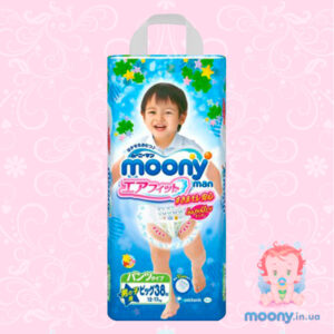 Трусики Moony Big (12-17 кг) 38 шт. для мальчиков