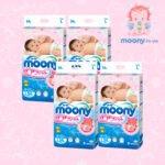 Японские подгузники оптом MOONY (L) 9-14 кг. 54 шт. с Disney
