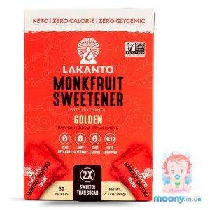 Купити натуральний цукрозамінник LACANTO білий 30 стіків по 3 г, 90 г. недорого в Києві та Україні