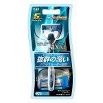 Безопасная бритва Kai Axia для мужчин с 5-ю лезвиями